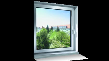 Fenêtre SCHÜCO avec paumelles (charnières) invisibles